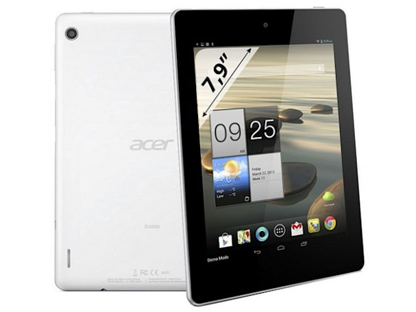 Acer's 7.9-inch Iconia A1-810 outed with quad-core CPU
