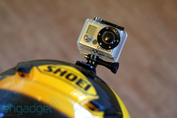GoPro HD Hero review and helmet cam face-off