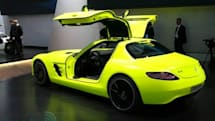Mercedes-Benz said to be exploring SLS AMG E-Cell in roadster guise