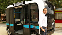 Olli is an IBM Watson-powered driverless electric bus