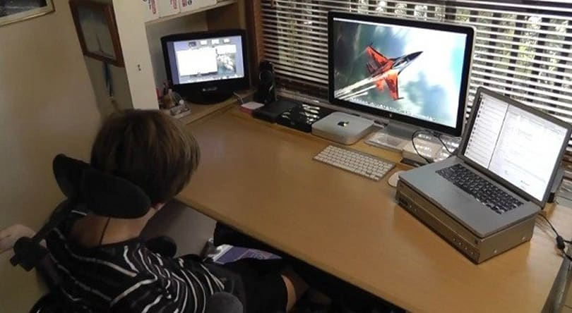 Even cerebral palsy can't stop this dedicated video creator