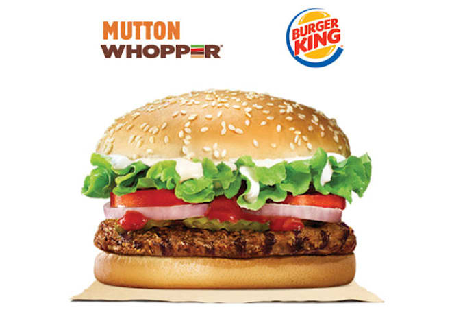 Burger King is selling mutton Whoppers on eBay