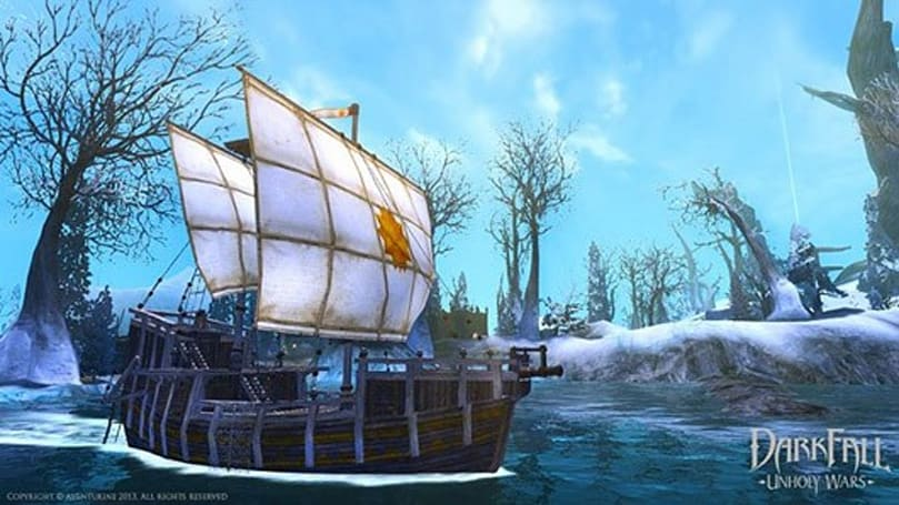 Darkfall tweaks Sea Fortress events, Slayer barrage skill