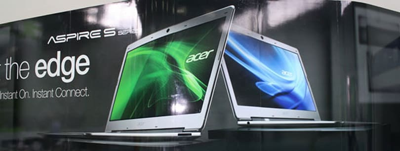 Acer Aspire Ultrabook S3 officially announced, starts at 799 euros