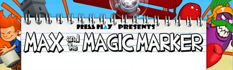 Max and the Magic Marker scribbles down a new trailer