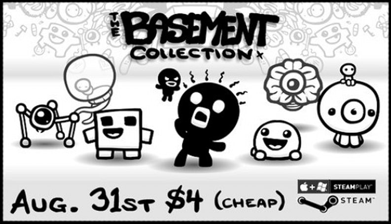 Edmund McMillen's Basement Collection arrives on Steam today