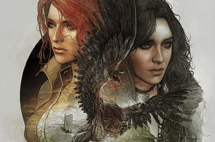 Gaze upon The Witcher 3: Wild Hunt's steelbook art