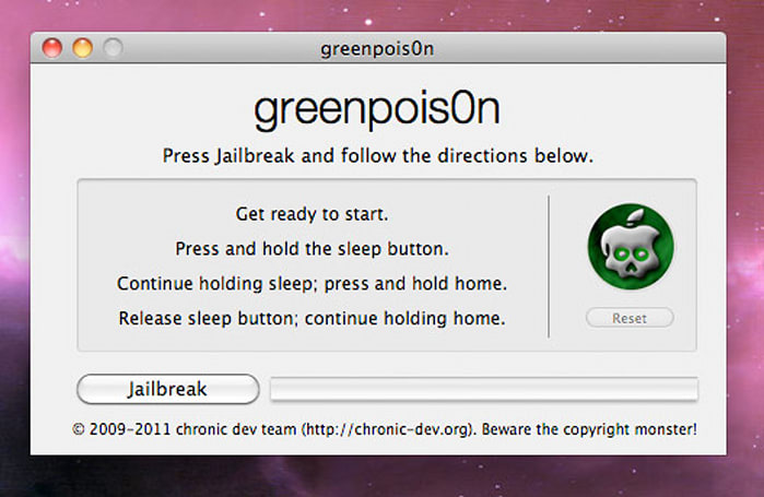 Verizon iPhone 4 (iOS 4.2.6) jailbreak now available for Mac and Windows, courtesy of greenpois0n