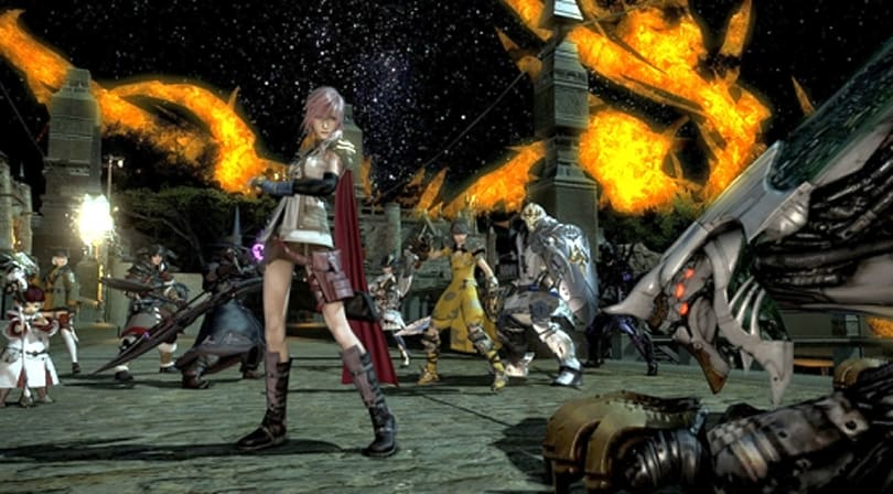 Lightning strikes Final Fantasy XIV on Thursday