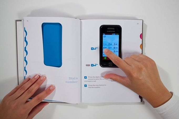 Out of the box concept aims to simplify cellphone instructions