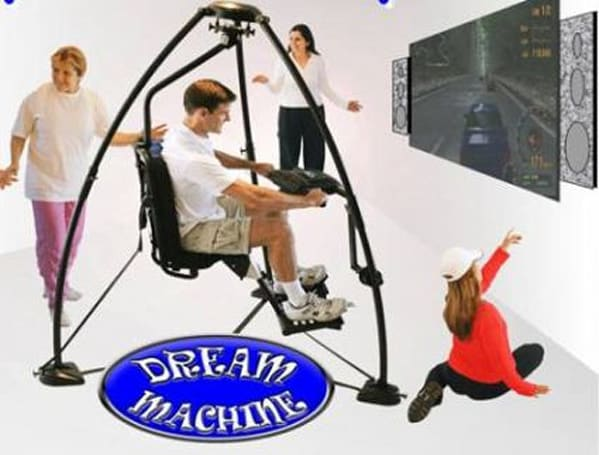 Twist to fitness with $1700 hover-chair controller
