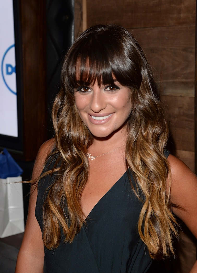 Look of the Week: Lea Michele's Summer Ombre
