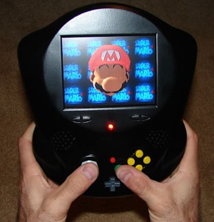 Darth 64 mega-mod results in portable N64 that breathes funny