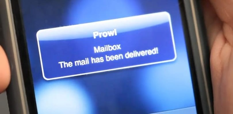 Real-life mailbox mod tells your iPhone when you've got snail mail (video)