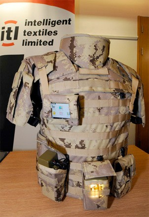 Conductive Fabrics May Power Future Infantry Gear