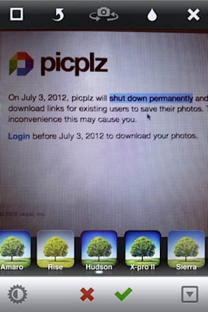 PicPlz shutting down permanently on July 3rd, all photos to be deleted pre-fireworks