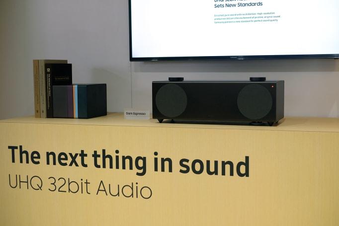 Samsung's 32-bit wireless speaker is sleek and loud