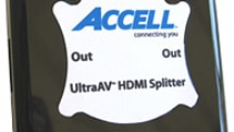 Accell launches UltraAV 1-2 HDMI Splitter