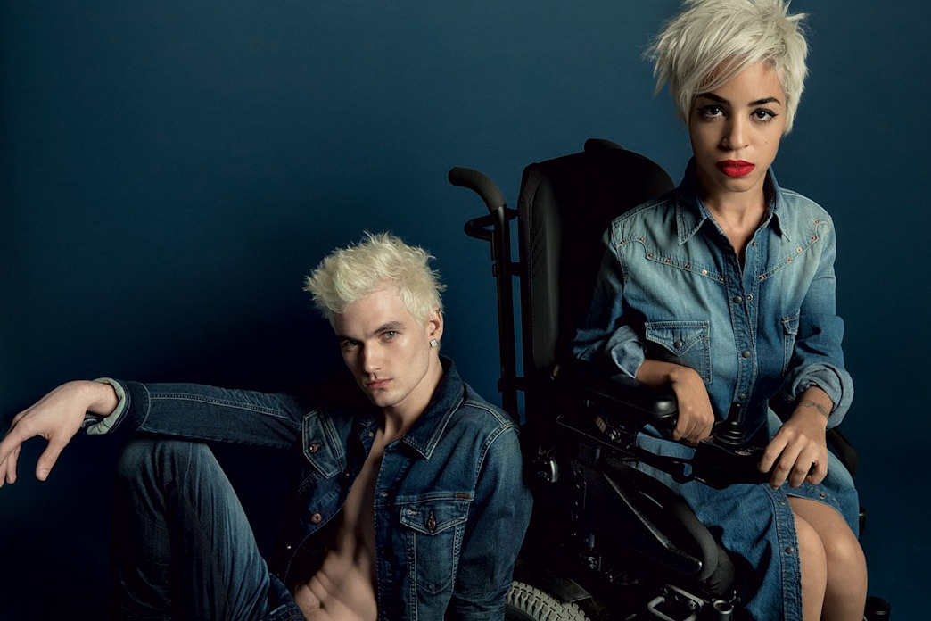 Diesel ad stars wheelchair-bound fashion editor Jillian Mercado, and it's amazing