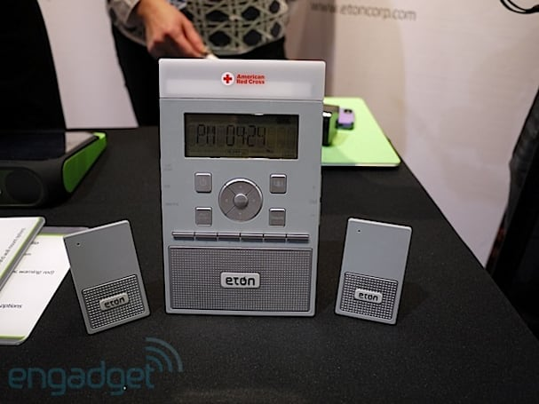 Eton launches a pair of ZoneGuard weather radios to rouse you with disaster warnings (hands-on)