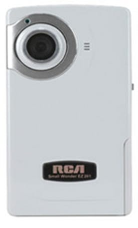 RCA's EZ201 Small Wonder camcorder now shipping