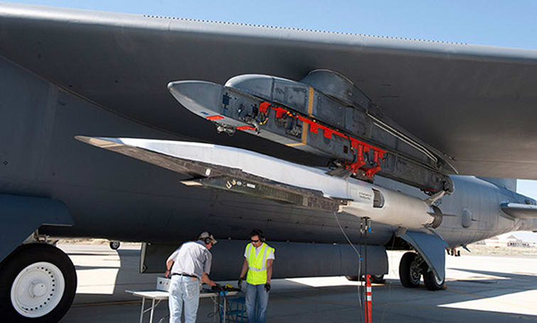 US Air Force and DARPA team up on hypersonic weapons