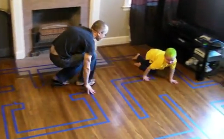 The most adorable game of real-life Pac-Man you'll see today