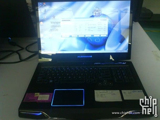 Unreleased Alienware M17x spotted running next-gen Intel Sandy Bridge chip