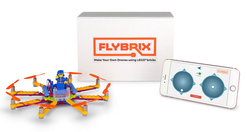 Engadget giveaway: Win a DIY Lego drone kit courtesy of Flybrix!