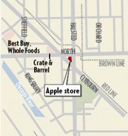 Rumor: Chicago's North/Halsted Apple Store opening this July