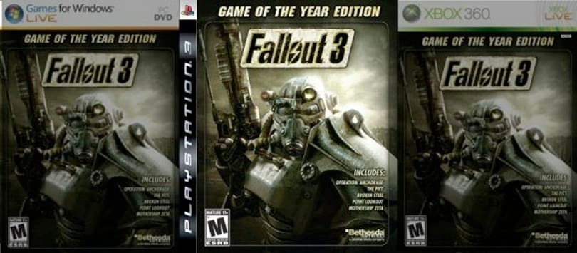 Canadian Fallout 3 PS3 GOTY edition patch now available