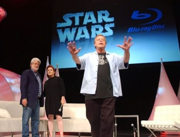 George Lucas officially announces Star Wars on Blu-ray in 2011