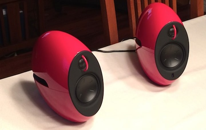 Edifier's e25 Luna Eclipse Bluetooth speakers sound as good as they look
