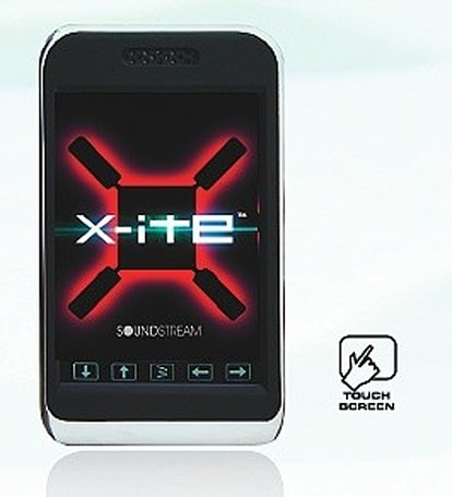 Soundstream's X-ITE MP28 codec-happy touchscreen player