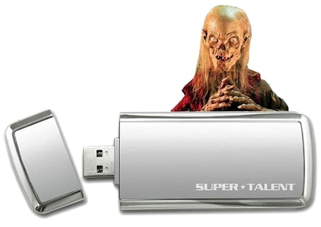 Super Talent debuts SuperCrypt thumbdrives with USB 3.0, 256-bit encryption