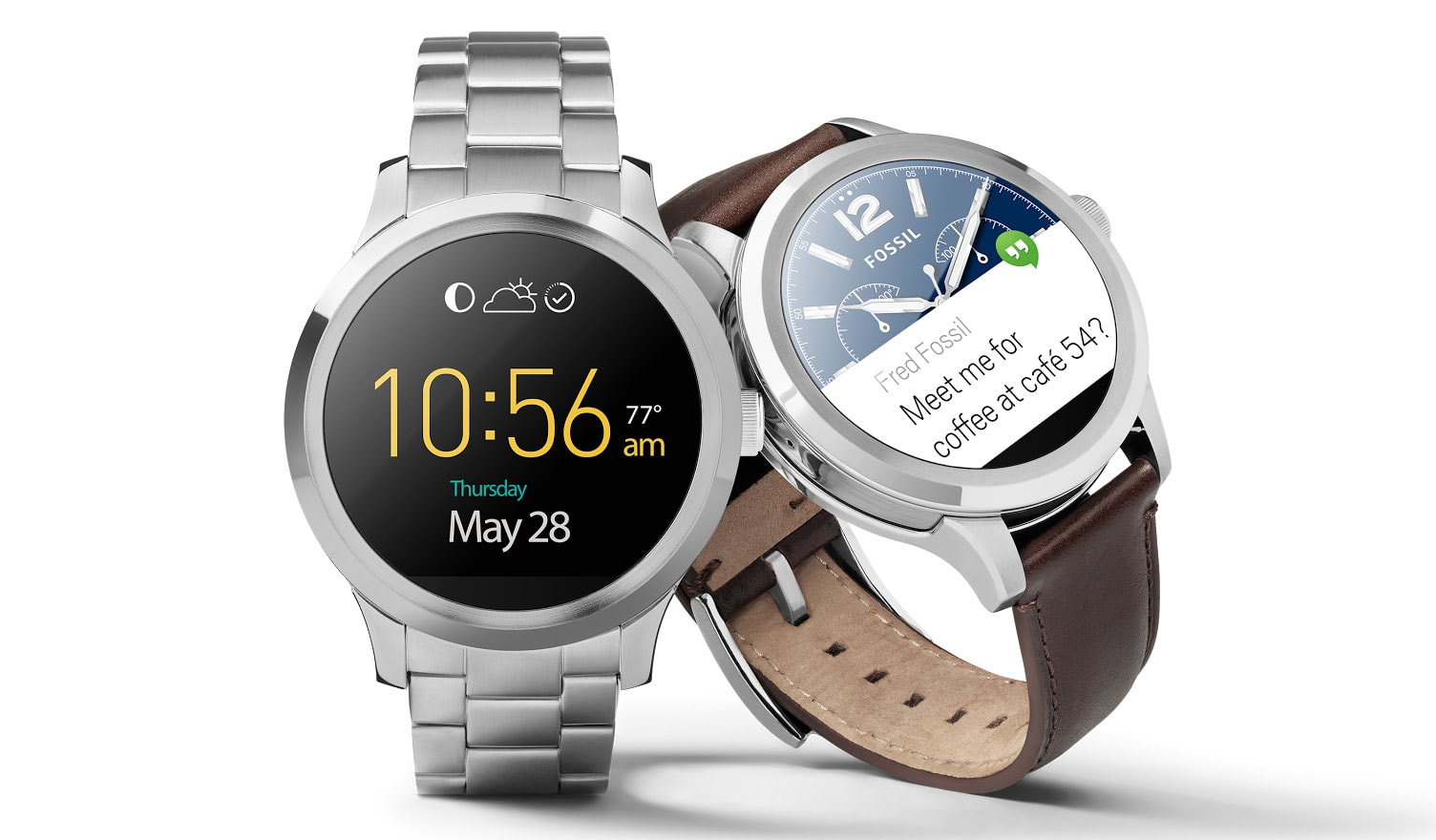 Fossil's Android Wear watch goes on sale for $275