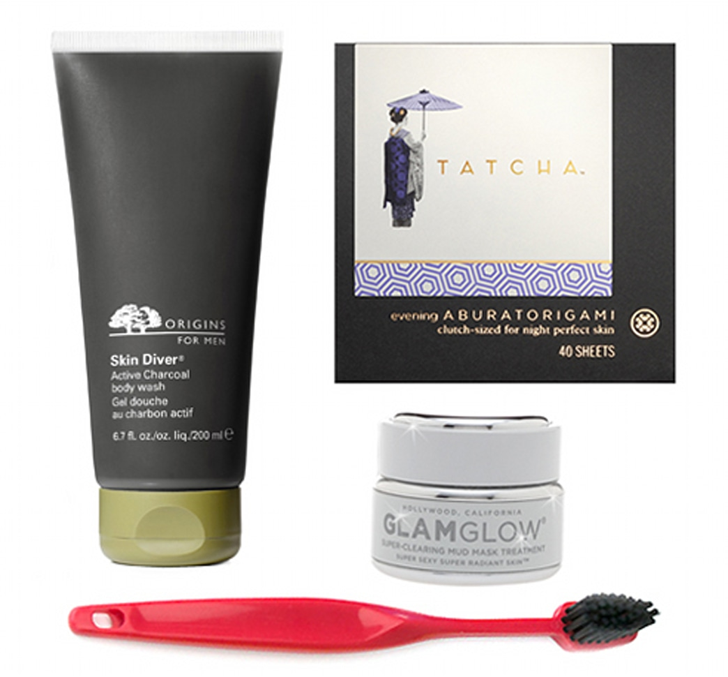Would you use beauty products with charcoal in them?