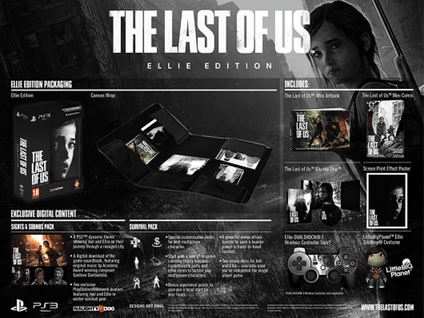 The Last of Us UK special editions come in Ellie, Joel flavors