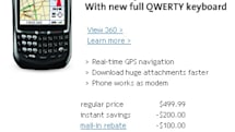 Sprint's BlackBerry 8703e with a stub antenna?