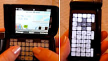 Video: Samsung's Alias 2 dynamic E-Ink keypad in action