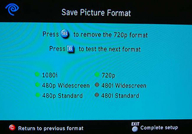 """Simple """"hack"""" yields extra resolutions from Scientific Atlanta 8300HD DVR"""