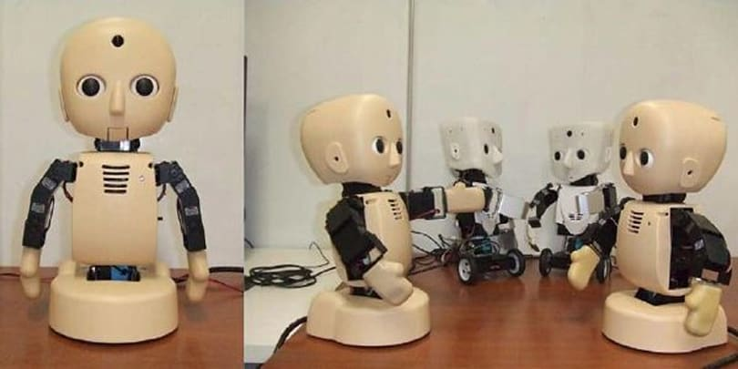 M3 robots used to research human development, melt hearts (video)