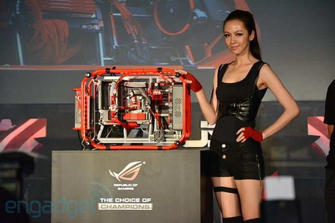 ASUS ROG reveals 'the ultimate gaming machine', the Poseidon Formula One