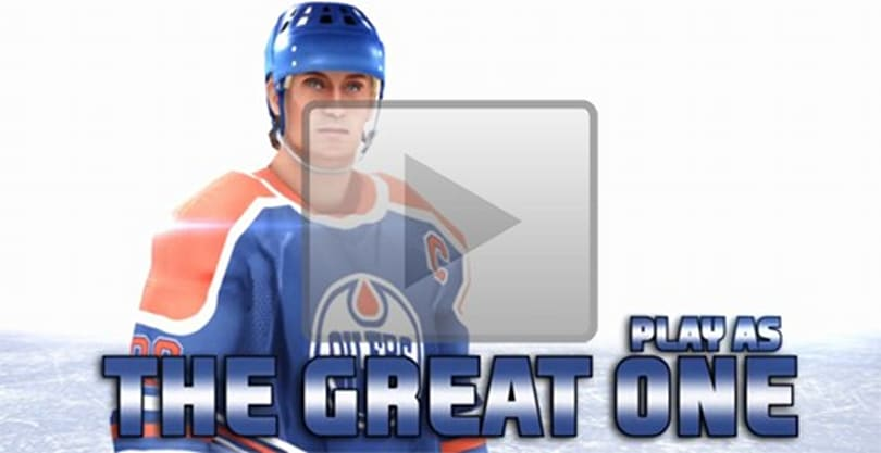 NHL Slapshot trailer takes The Great One from peewee to pro