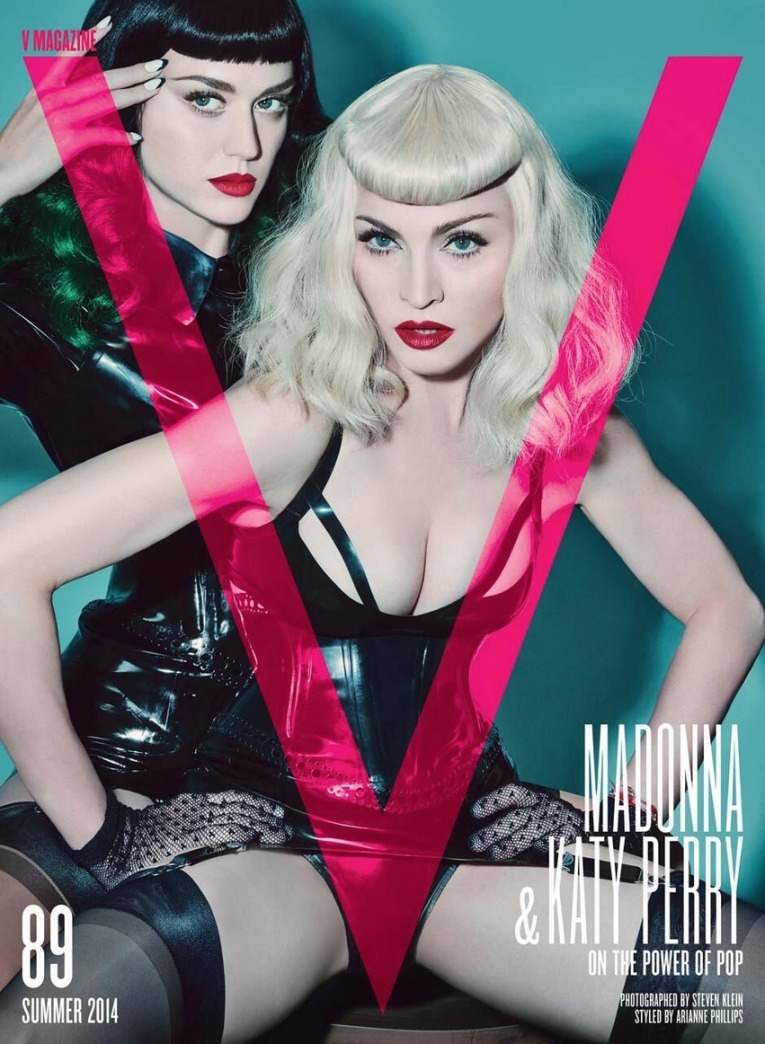 Top 9 at 9: Madonna and Katy Perry for V magazine and more news