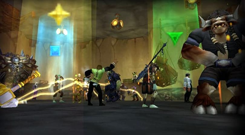 Players rave to underground goblin techno at Wyrmrest Accord's Club Trix