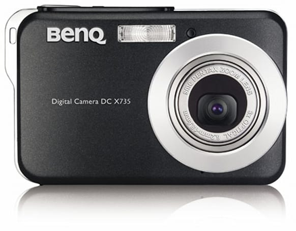 BenQ intros the DC-X735 ultra-slim camera