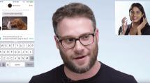 Seth Rogen kapert Tinder einer jungen Dame
