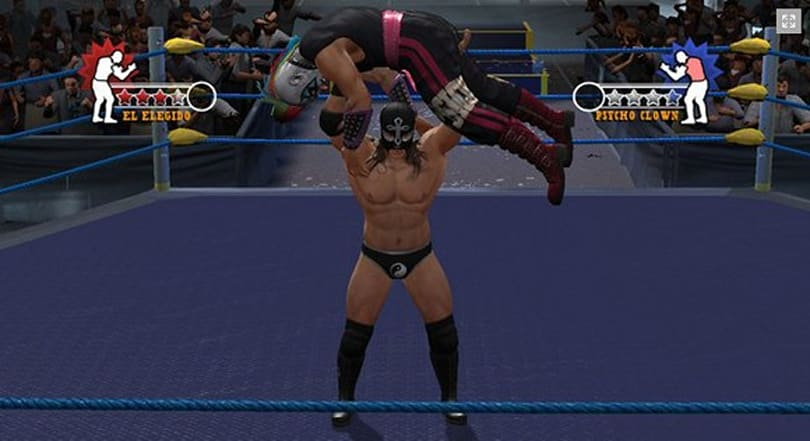 Lucha libre game coming to America