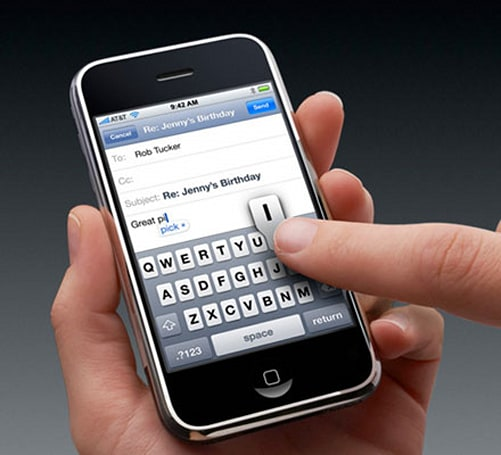Apple quietly handling iPhone touchscreen issues?
